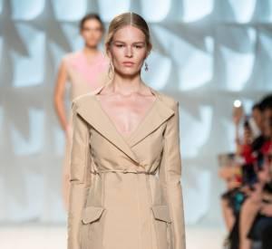 Défilé Nina Ricci Printemps-Été 2015 version Peter Copping. Que donnera la version de Guillaume Henry ? Réponse en mars 2015 lors de la Fashion Week Automne-Hiver 2015/2016 de Paris.