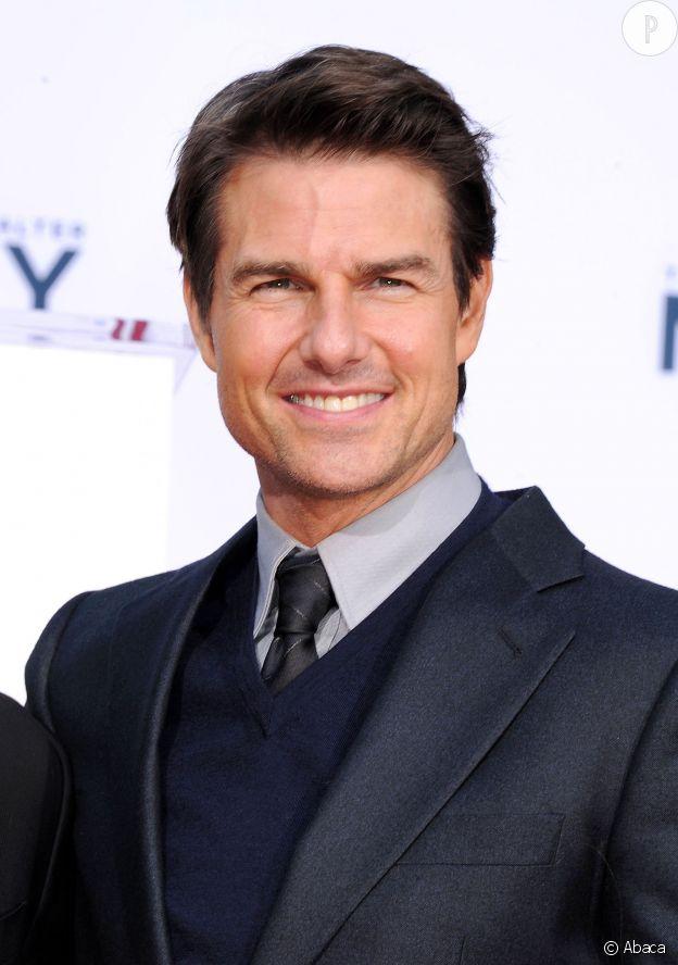Tom Cruise, la cinquantaine souriante... Il a eu 50 ans en 2012, ce qui a dû lui laisser le temps de s'y faire !