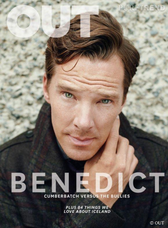 Benedict Cumberbatch fait la couverture du magazine OUT et défend avec force la cause des homosexuels.