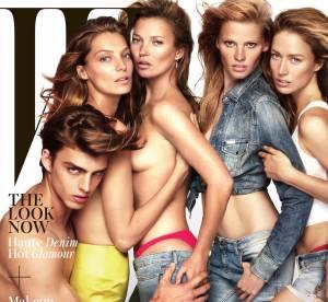 Kate Moss :  de nouveau topless !