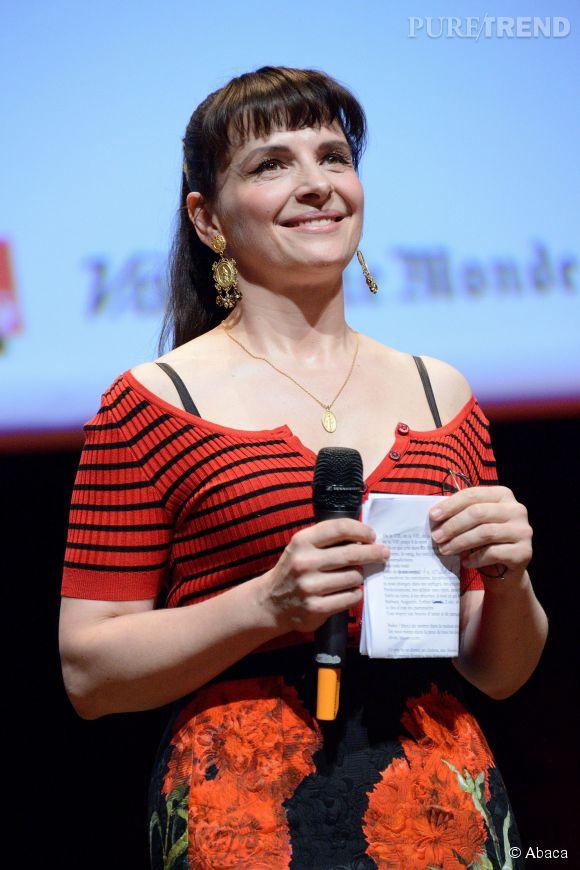 Juliette Binoche a réussi à faire pleurer le seul et unique Quentin Tarantino.