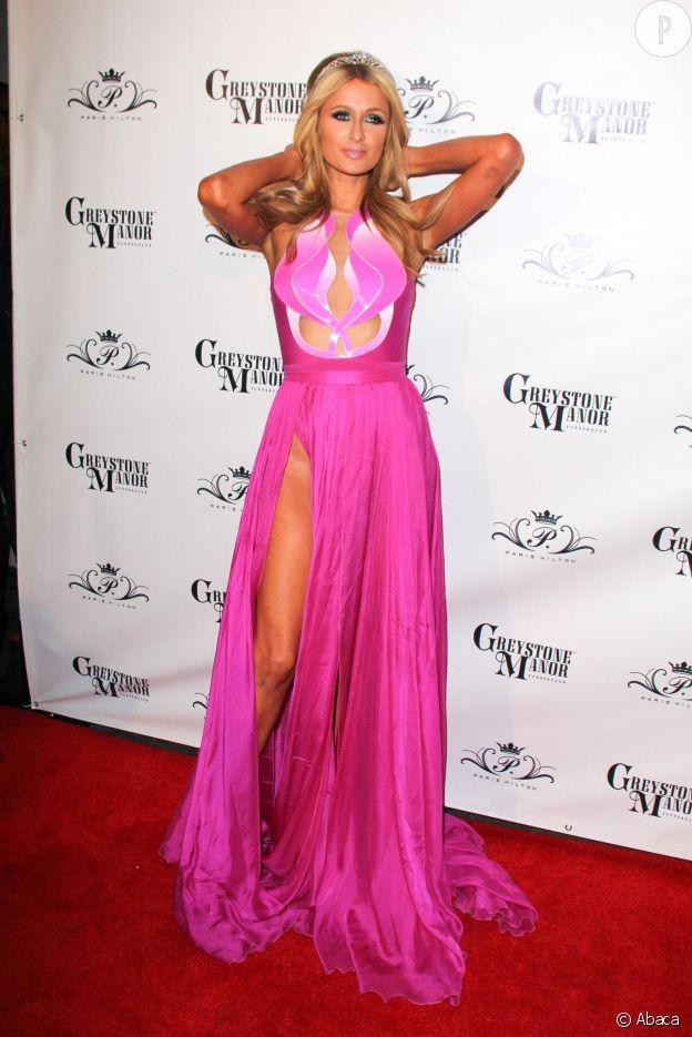 Paris Hilton ou plutôt Barbie sans culotte.