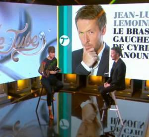 """Jean-Luc Lemoine, qui était invité de Daphné Bürki dans """"Le Tube"""" sur Canal+ ce dimanche 26 octobre 2014, a confié que sa chronique """"4/3"""" était parfois source de tensions avec les autres membres de l'émission """"Touche pas à mon poste""""."""