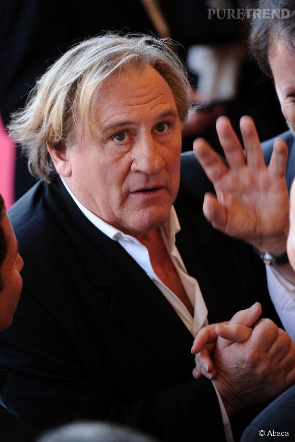 """Gérard Depardieu, interrogé par Augustin Trapenard sur France Inter dans """"Boomerang"""" est revenu sur la polémique de son statut français."""
