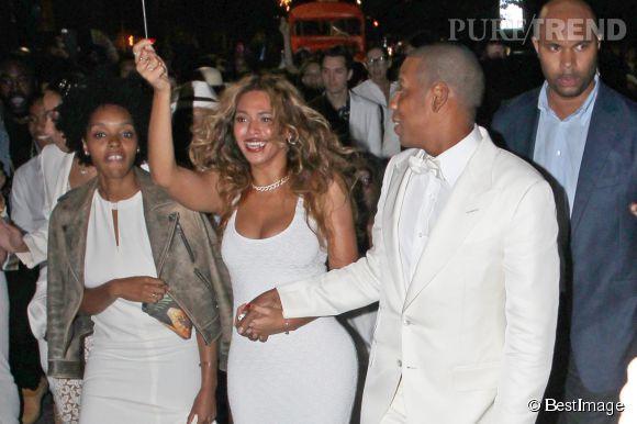 Beyoncé et Jay,Z, plus amoureux que jamais au mariage de Solange Knowles et Alan Ferguson.