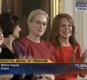 Le discours drôle et émouvant de Barack Obama pour Meryl Streep et Stevie Wonder.