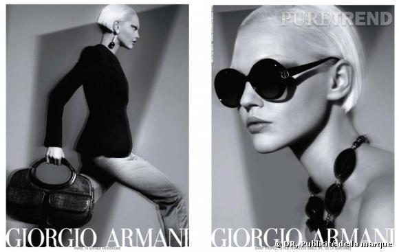 Publicité Armani