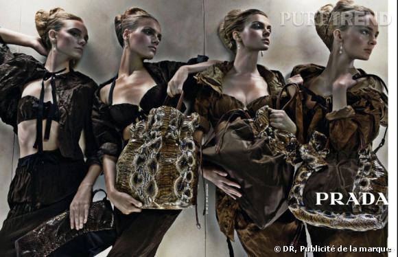 Publicité de Prada