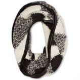 Gestuz echarpe femme - gris - noir/blanc - taille unique