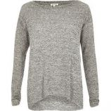 Top gris River Island