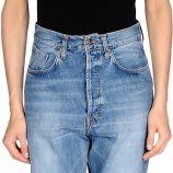 Pantalon en jean (+) people femme. bleu. 27 solde.