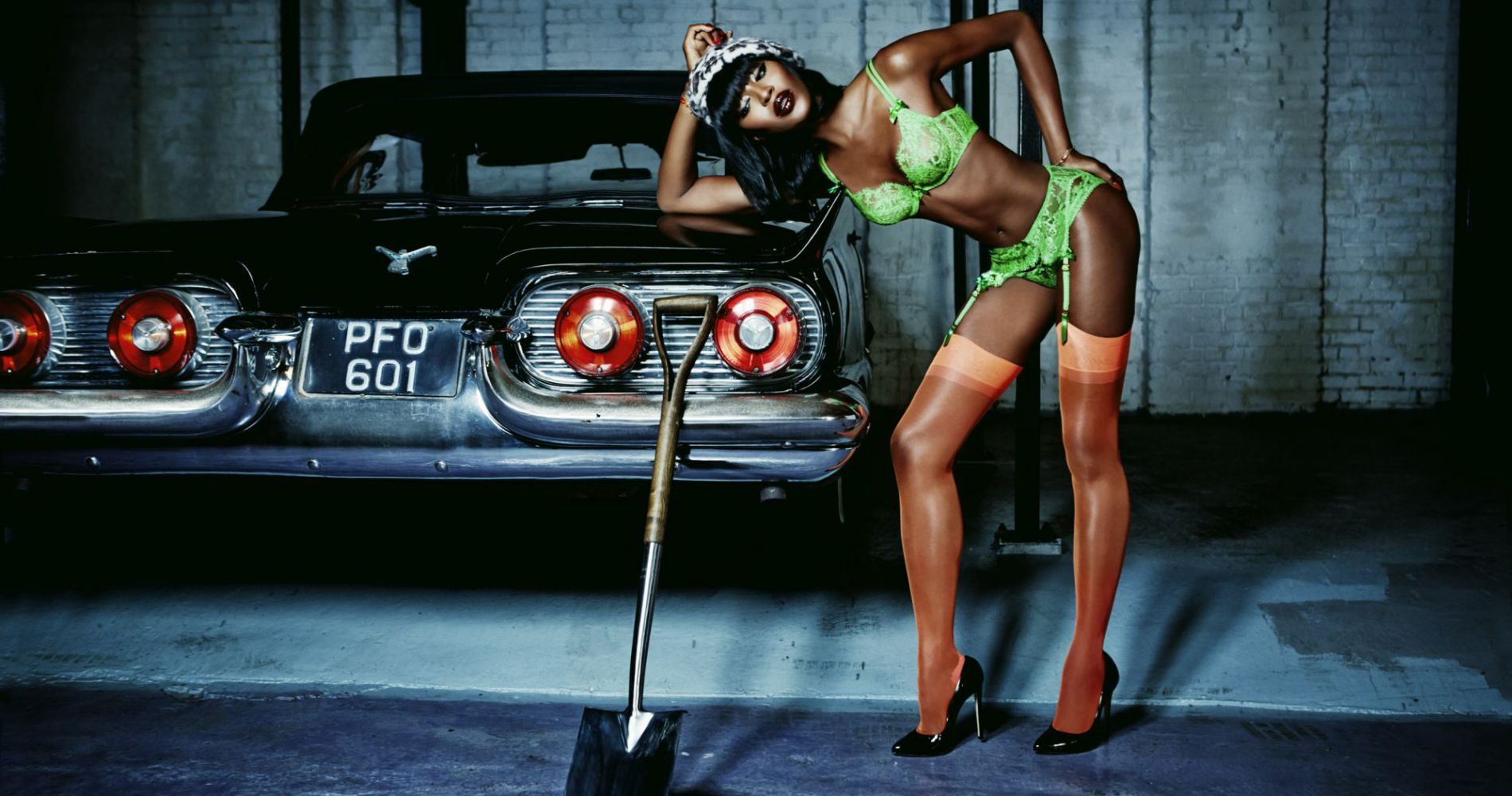 Naomi Campbell : la Killer Queen d'Agent Provocateur