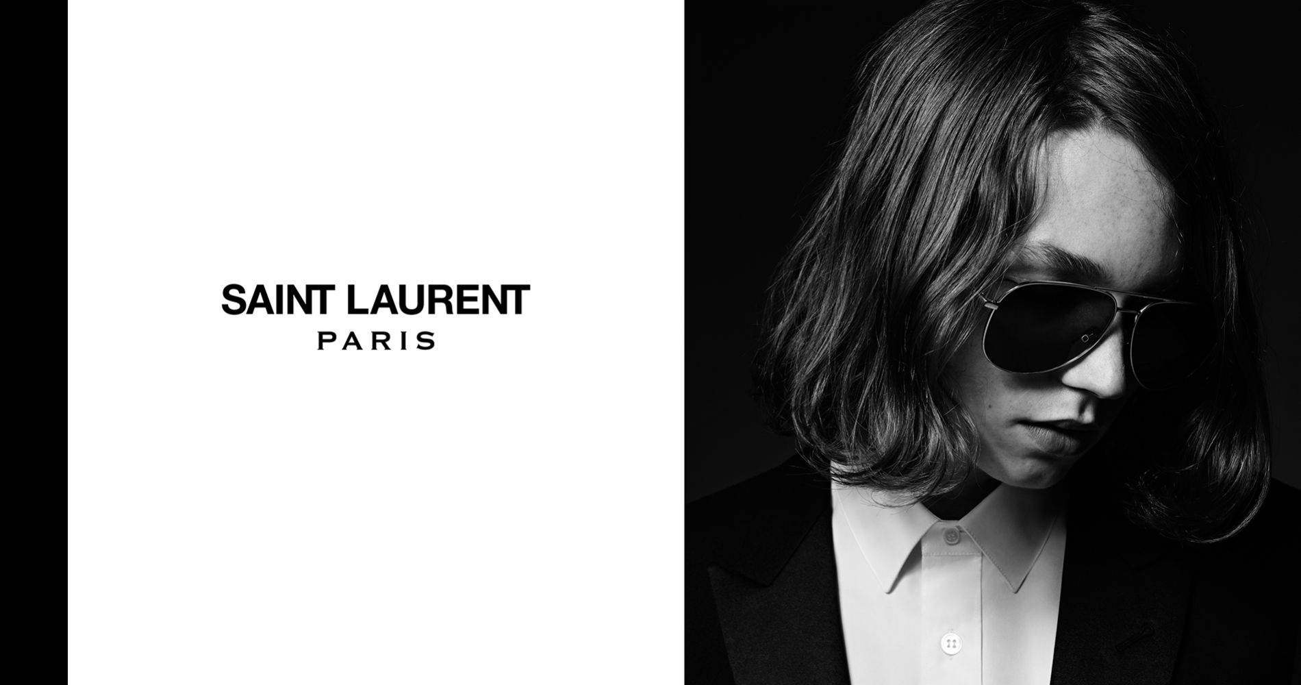 Jack Kilmer, nouvel homme Saint Laurent Paris