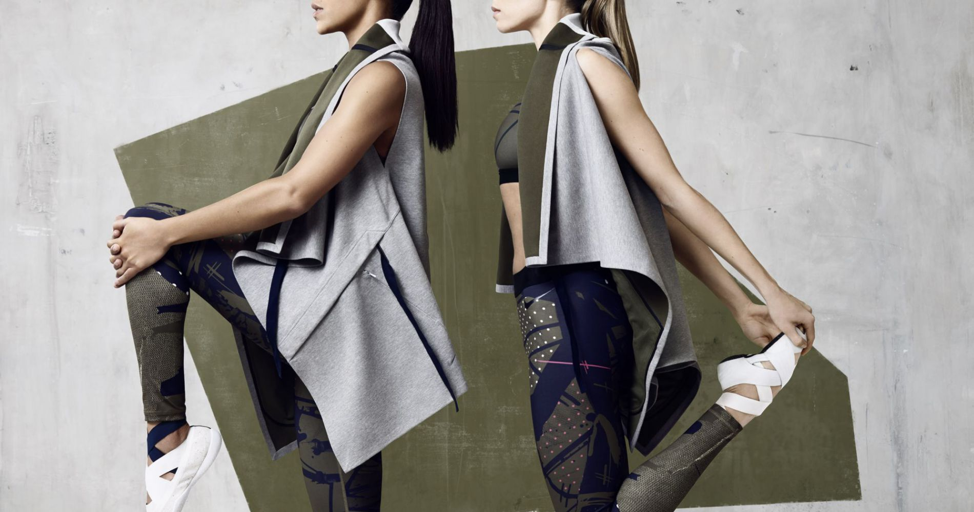 Nike et Johanna Schneider : la jolie collab' sport et mode