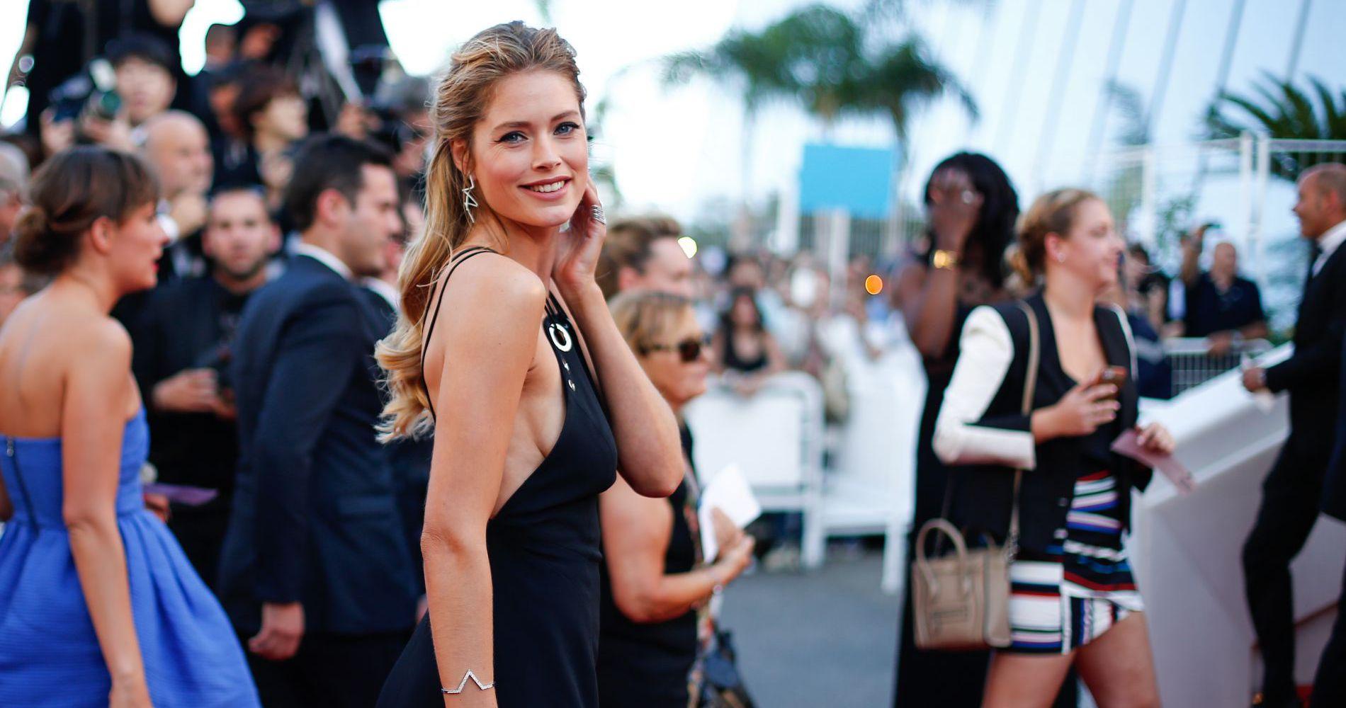 Pour cette huitième journée de Festival de Cannes, défilé de stars françaises et de tops internationaux...