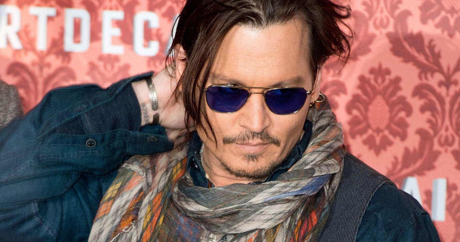 Johnny Depp, l'égérie Sauvage du nouveau parfum Dior