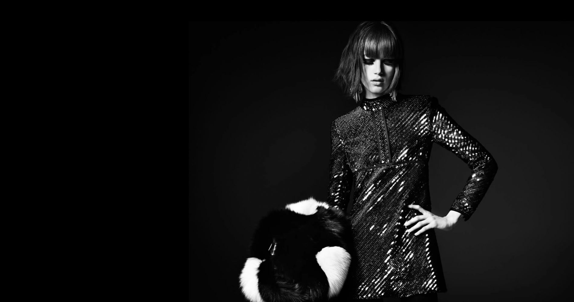 Valery Kaufman, la muse sixties de Saint Laurent
