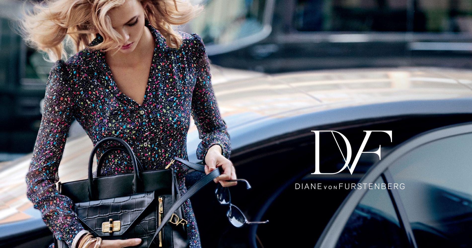 Karlie Kloss présente le Secret Agent de Diane Von Furstenberg