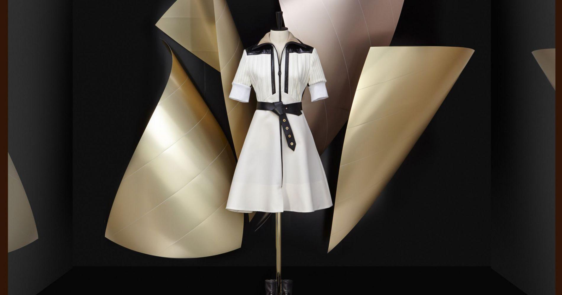 Frank Gehry rhabille les vitrines de Louis Vuitton