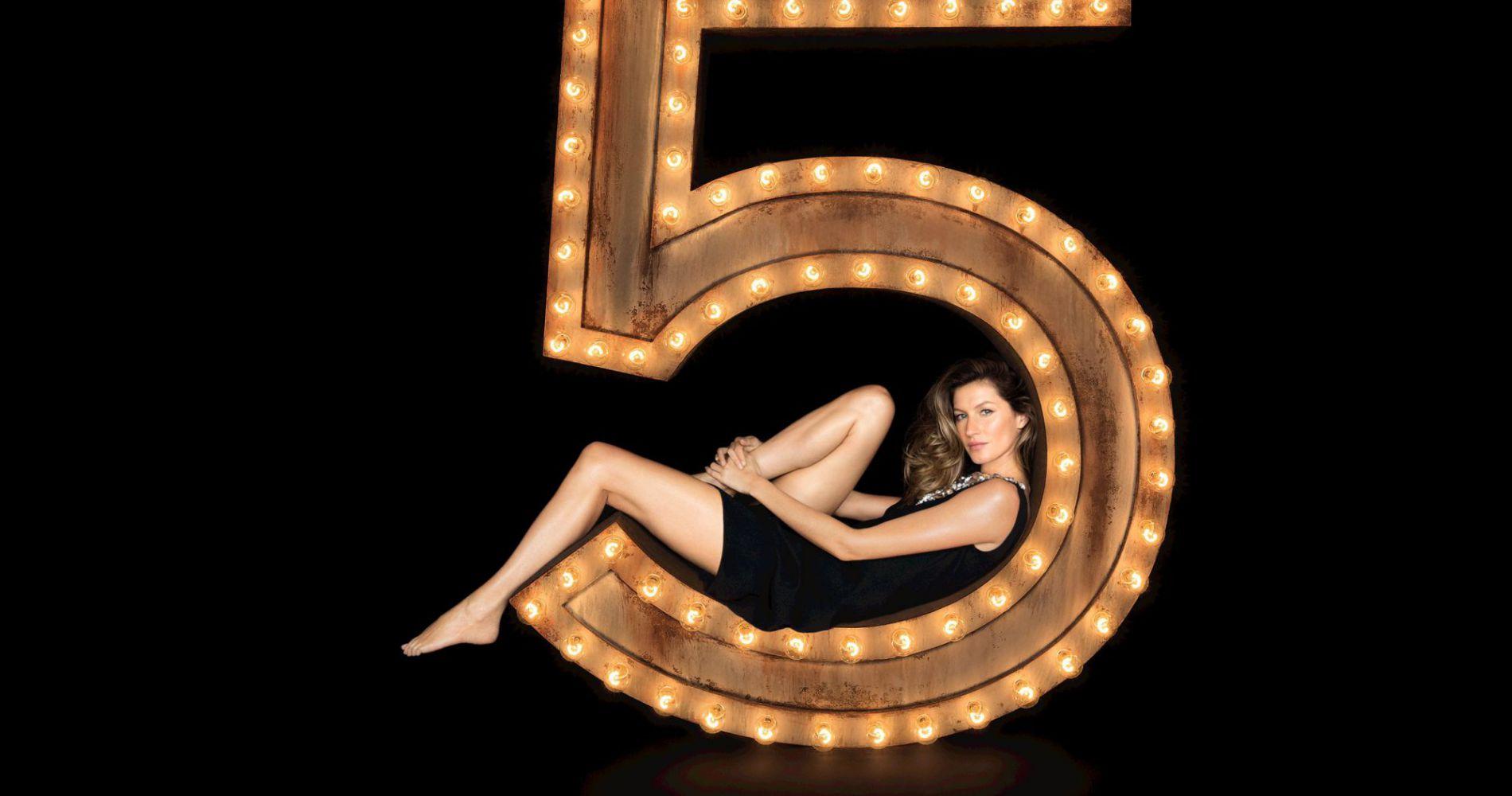 Gisele Bündchen, la nouvelle héroïne de Chanel N°5