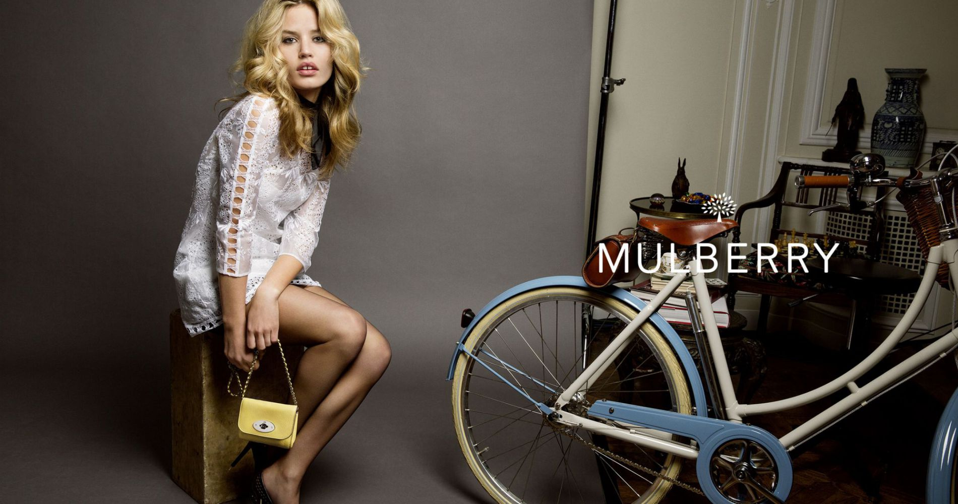 Georgia May Jagger devient le visage de Mulberry