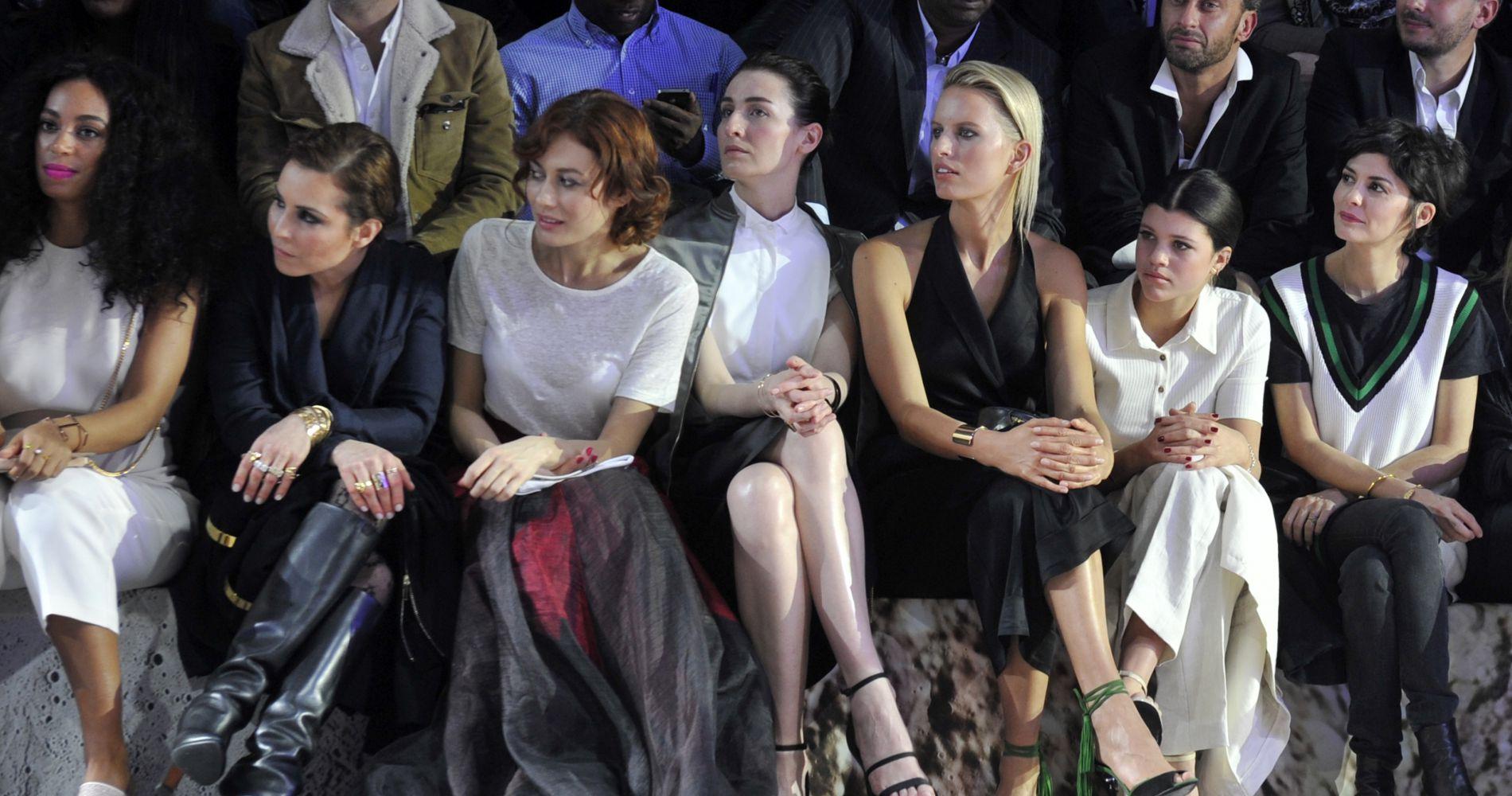 Audrey Tautou, Virginie Ledoyen, Soko... tsunami de stars au défilé H&M